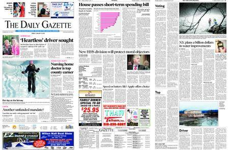 The Daily Gazette – January 19, 2018