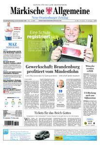 Neue Oranienburger Zeitung - 22. Dezember 2018