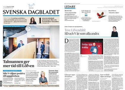 Svenska Dagbladet – 15 januari 2019