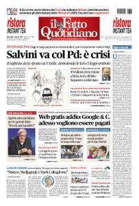Il Fatto Quotidiano - 07 agosto 2019