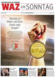 WAZ Westdeutsche Allgemeine Zeitung Sonntagsausgabe - 16. Juni 2019