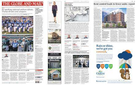 The Globe and Mail – September 25, 2017