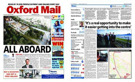Oxford Mail – August 02, 2018
