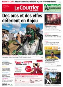 Le Courrier de l'Ouest Nord Anjou – 14 juillet 2019