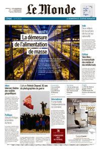 Le Monde du Dimanche 1er et Lundi 2 Septembre 2019