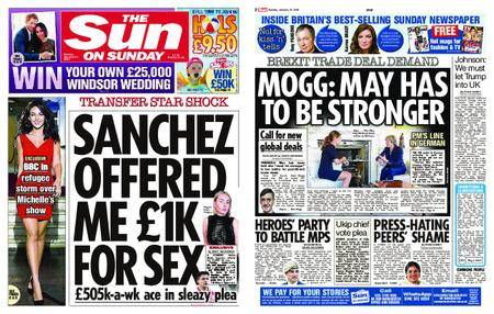 The Sun UK – 21 January 2018
