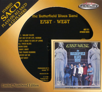 The Butterfield Blues Band - East-West (1966) [Audio Fidelity 2014] PS3 ISO + Hi-Res FLAC
