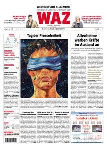 WAZ Westdeutsche Allgemeine Zeitung Oberhausen-Sterkrade - 03. Mai 2019