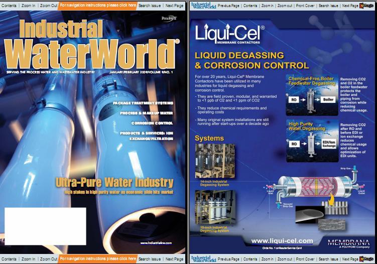 Industrial WaterWorld Magazine, January/February 2009