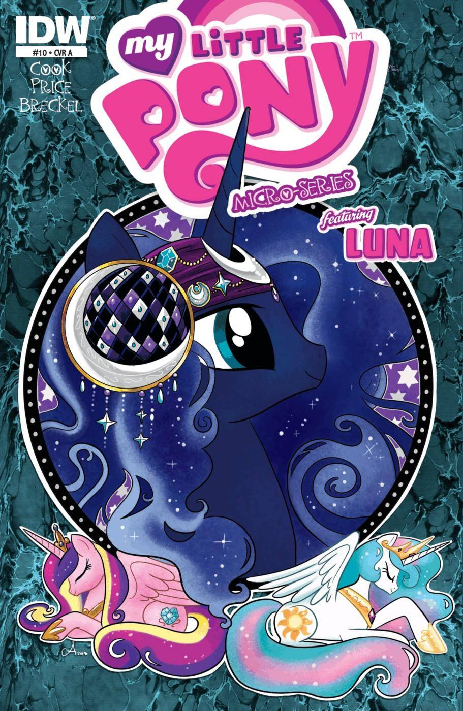 My Little Pony - Micro Series 010 Luna 2013 2 covers digital