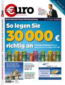 Euro am Sonntag – 25. Mai 2019