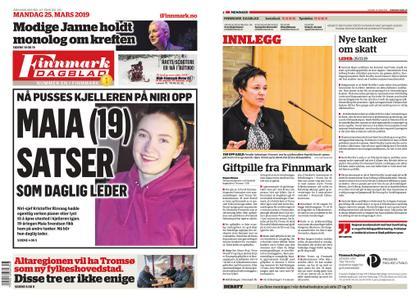 Finnmark Dagblad – 25. mars 2019