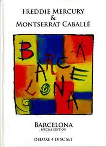Freddie Mercury & Montserrat Caballe - Barcelona (2012) [3CD + DVD + LP & AudioDVD (24/96)]