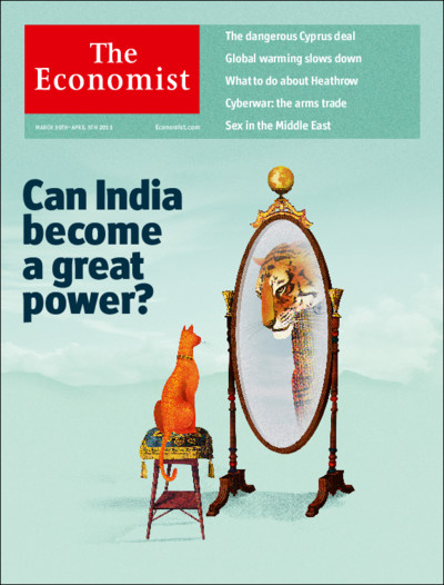 The Economist, for Kindle - March 30th - April 5th 2013