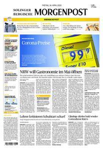 Solinger Morgenpost – 24. April 2020