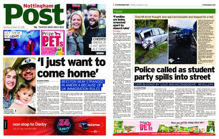 Nottingham Post – October 22, 2018