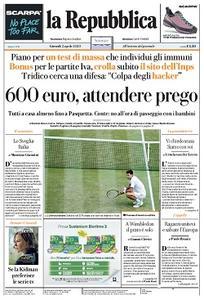 la Repubblica - 2 Aprile 2020