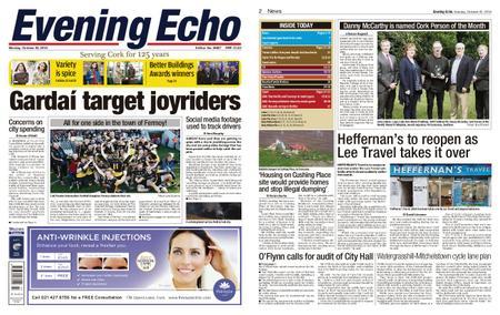 Evening Echo – October 22, 2018