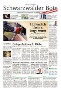 Schwarzwälder Bote Oberndorf - 23. Oktober 2018