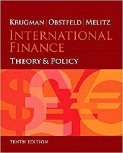 International Finance: Theory and Policy [Repost]