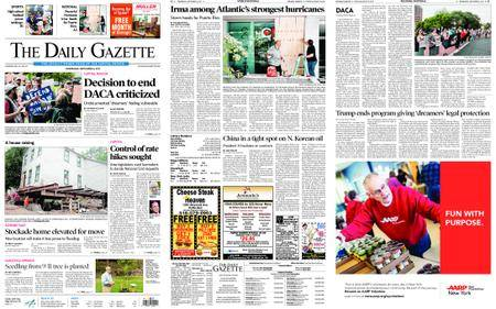 The Daily Gazette – September 06, 2017