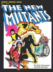 Marvel Graphic Novel 04 - New Mutants - Renewal 1982