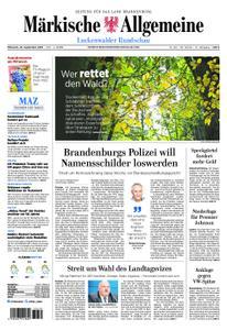 Märkische Allgemeine Luckenwalder Rundschau - 25. September 2019