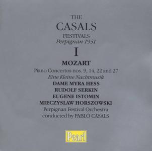 Perpignan Festival Orchestra, Pablo Casals - The Casals Festivals Perpignan 1951, Volume 1: Mozart - Piano Concertos (2002)