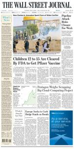The Wall Street Journal - 11 May 2021