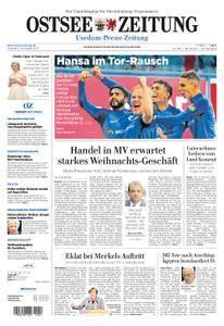 Ostsee Zeitung Wolgast - 27. November 2017