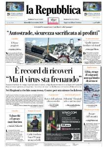 la Repubblica - 12 Novembre 2020
