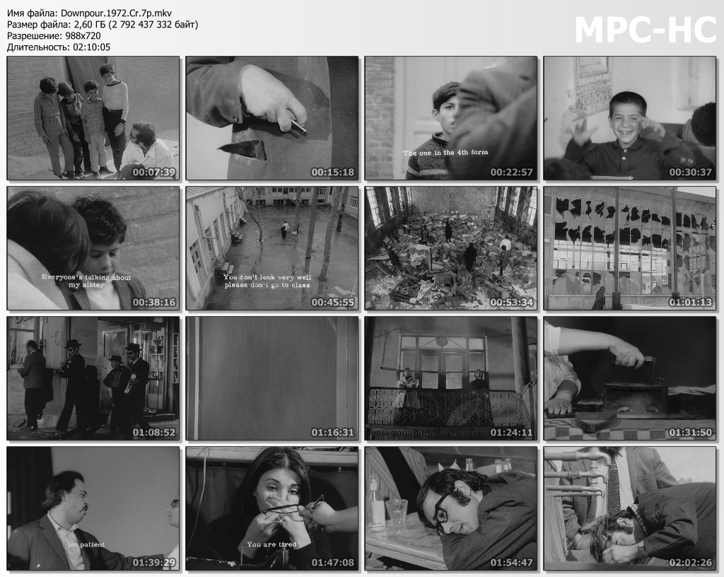 Downpour / Ragbar (1972) [Criterion Collection]