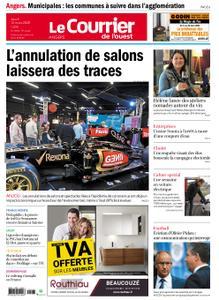 Le Courrier de l'Ouest Angers – 12 mars 2020