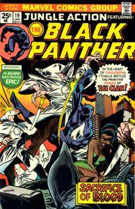Jungle Action v2 019 featuring Black Panther