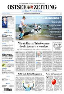 Ostsee Zeitung Wolgast - 04. Juni 2018