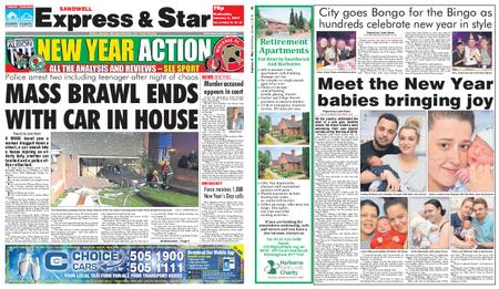 Express and Star Sandwell Edition – January 02, 2019