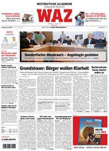 WAZ Westdeutsche Allgemeine Zeitung Bochum-Süd - 28. Juni 2019