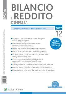 Bilancio e reddito d'impresa - Dicembre 2017