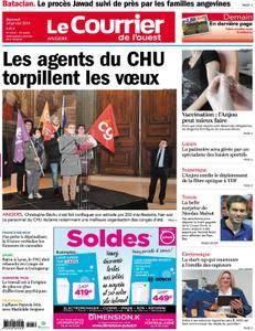 Le Courrier de l'Ouest Angers - 24 janvier 2018