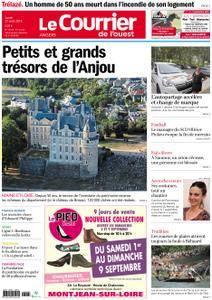 Le Courrier de l'Ouest Angers - 27 août 2018