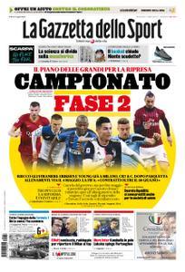 La Gazzetta dello Sport Roma – 08 aprile 2020