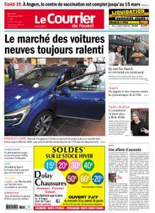 Le Courrier de l'Ouest Angers – 23 janvier 2021