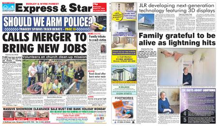 Express and Star Dudley and Wyre Forest Edition – August 21, 2019