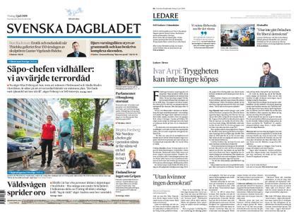 Svenska Dagbladet – 02 juli 2019