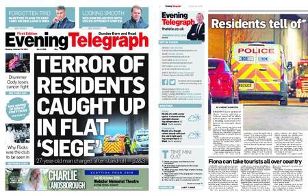 Evening Telegraph First Edition – October 29, 2018