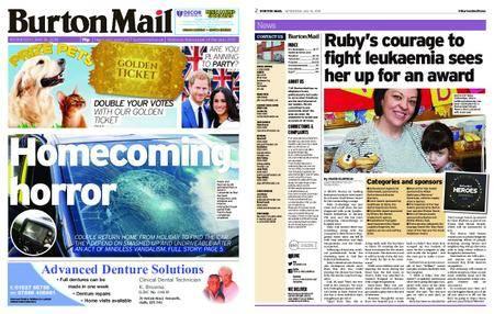 Burton Mail – May 16, 2018