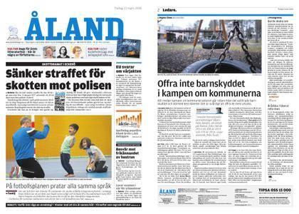 Ålandstidningen – 13 mars 2018