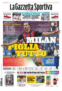 La Gazzetta dello Sport Roma – 18 ottobre 2020