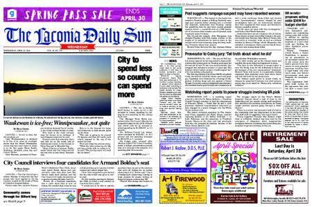 The Laconia Daily Sun – April 25, 2018