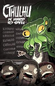 Wannabe Press-Cthulhu Is Hard To Spell Vol 01 2021 Hybrid Comic eBook